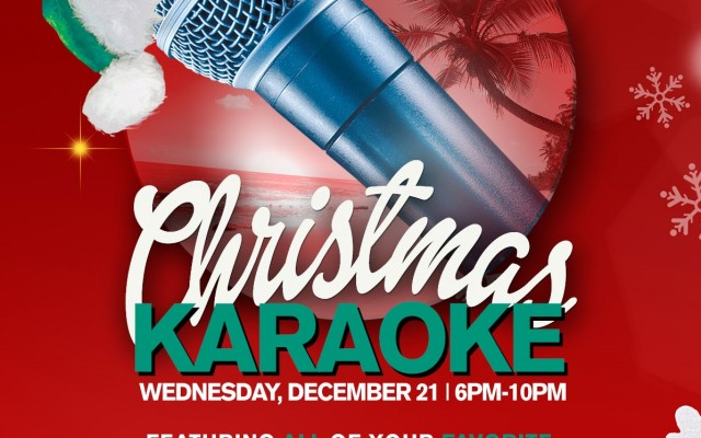 Christmas Karaoke at Beach