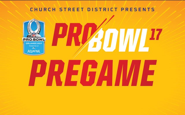 Pro Bowl Pre Game On Church Street