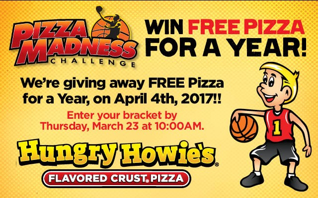 Win FREE Pizza for a Year