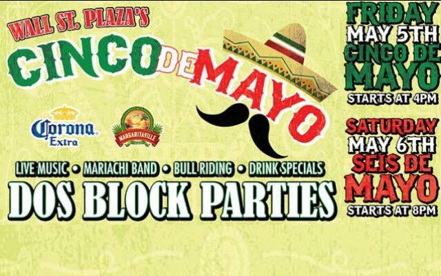 Cinco De Mayo 2017 Block Party On Wall Street Plaza