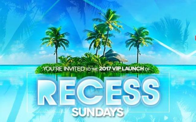 Recess Sundays: VIP Launch Party