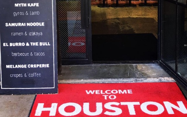 Houston's First Food Hall and Underground Beer Garden