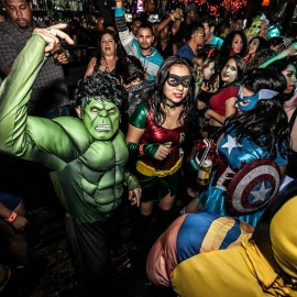 Halloween in Long Beach 2019