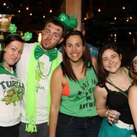 St. Patricks Day in Cancun