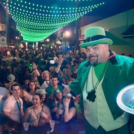 Wall St. Plaza St. Patrick's Day Block Parties