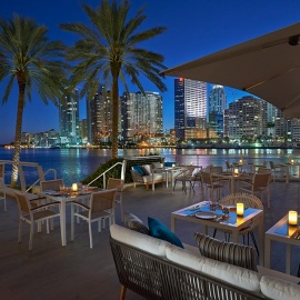 Restaurants on the Water in Miami