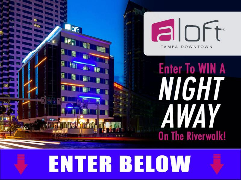 Aloft Downtown Tampa | Enter To WIN A Night Stay!