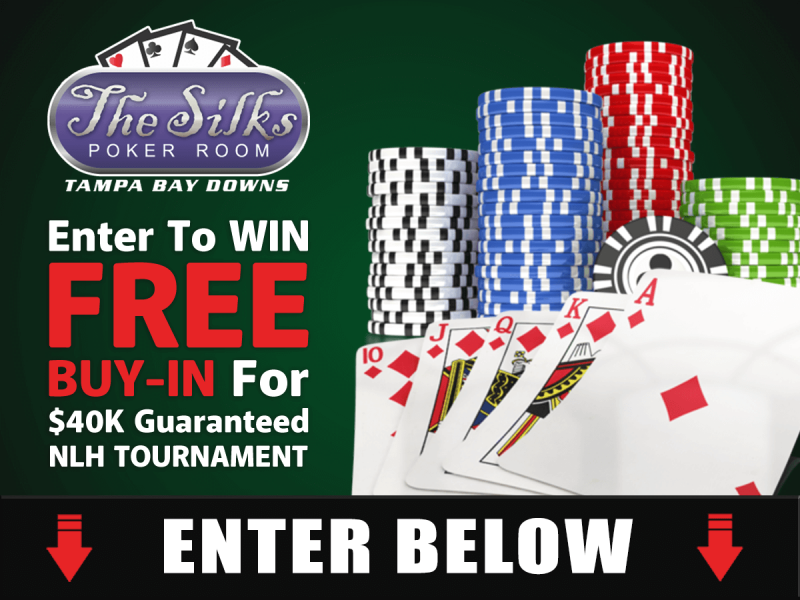 Silk's Poker Room | Enter for a Chance to WIN FREE Buy-In!