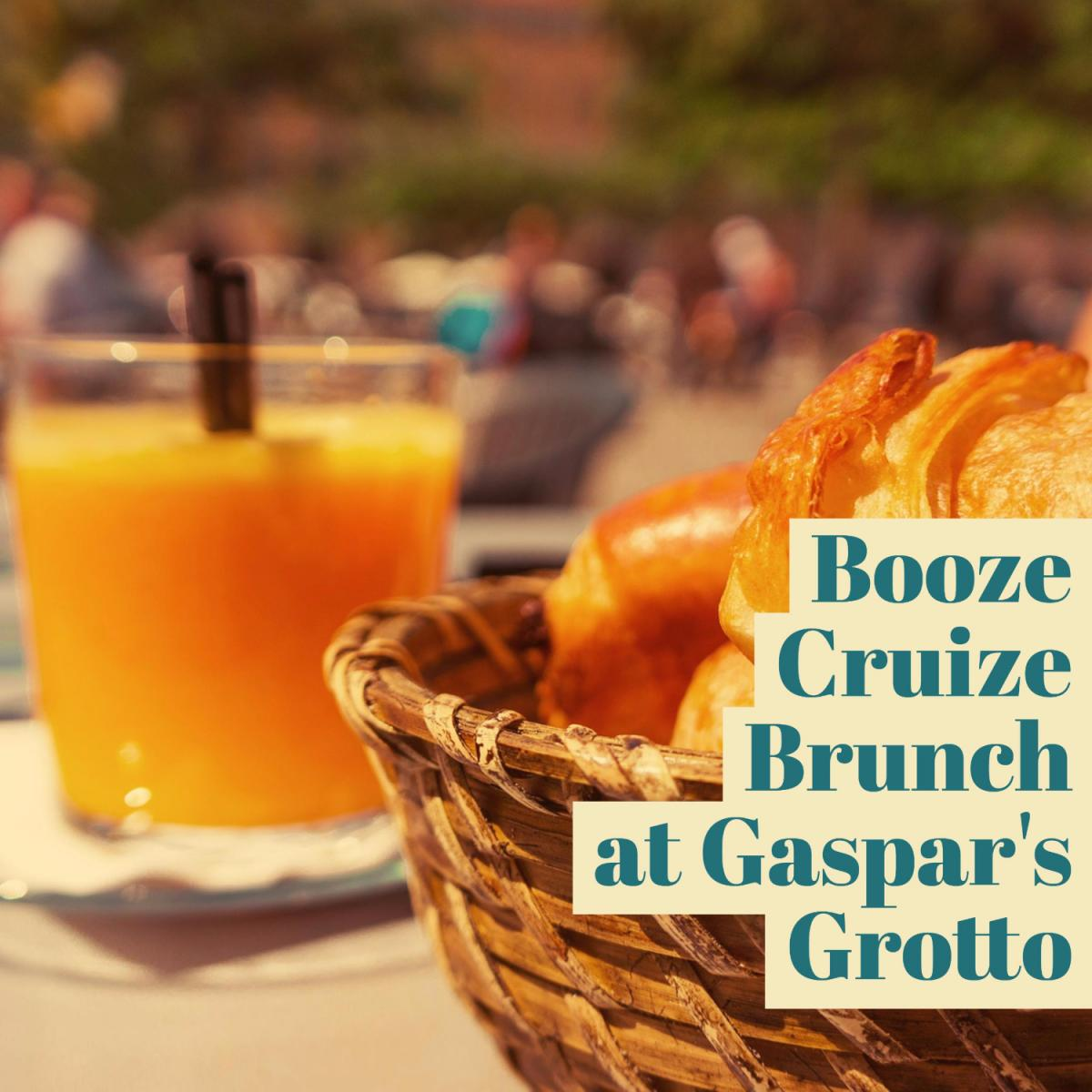 Booze Cruize Brunch at Gaspar's Grotto in Ybor City