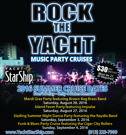 Rock The Yacht's Fun Summer Cruises To Exit With A Big Bang