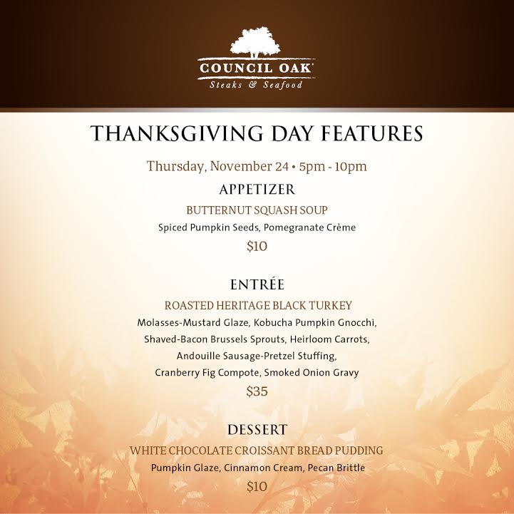 Tampa Restaurants Open For Thanksgiving