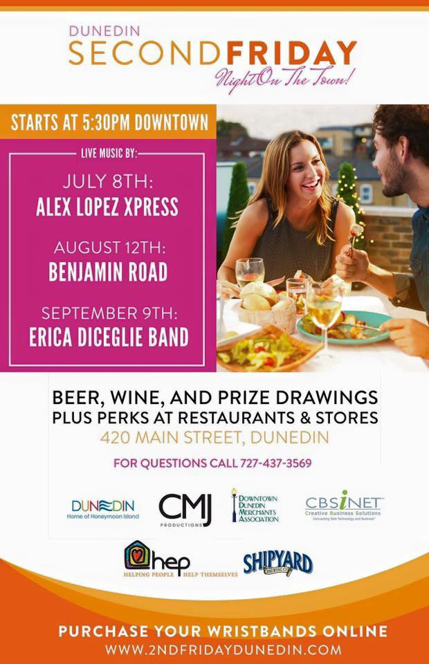 2nd Friday Night in Downtown Dunedin | Bars, Restaurants More