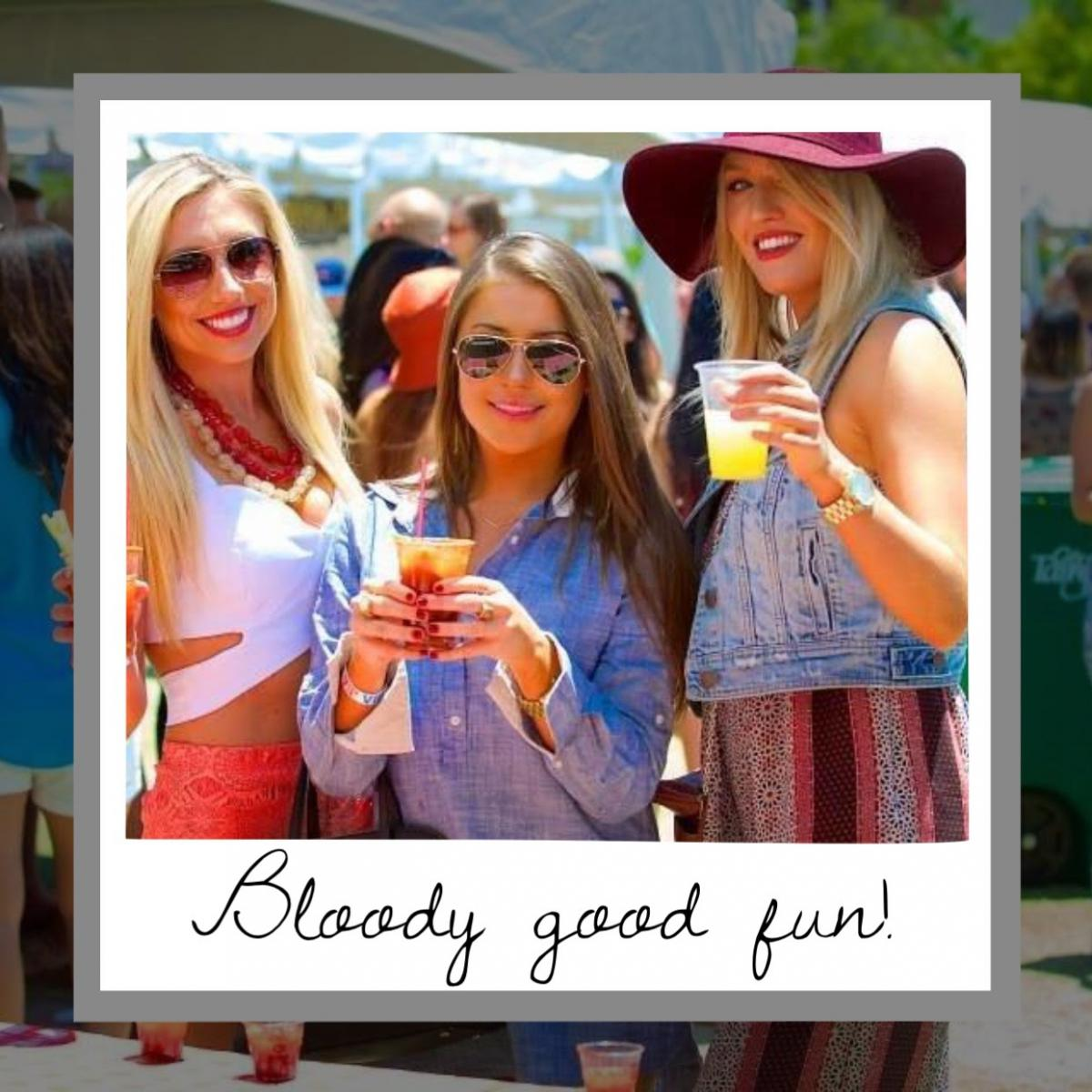 Have Healthy Sunday Fun at the Bloody Mary Fest