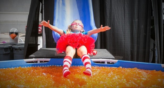 You Had Us at Jello! Let's PLUNGE for Pediatric Cancer