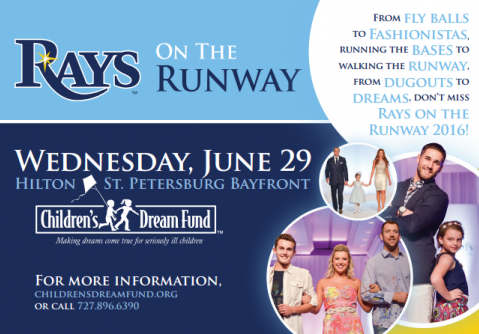 10th Annual 'Rays on the Runway' to Help More Children's Dreams Come True