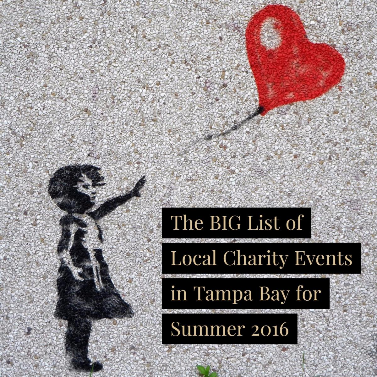 The BIG List of Local Charity Events in Tampa for Summer 2016
