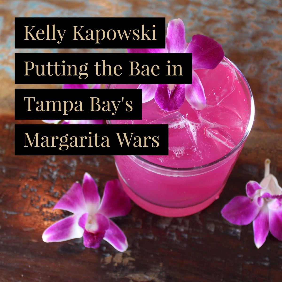 Kelly Kapowski Puts the Bae in Tampa Bay's Margarita Wars
