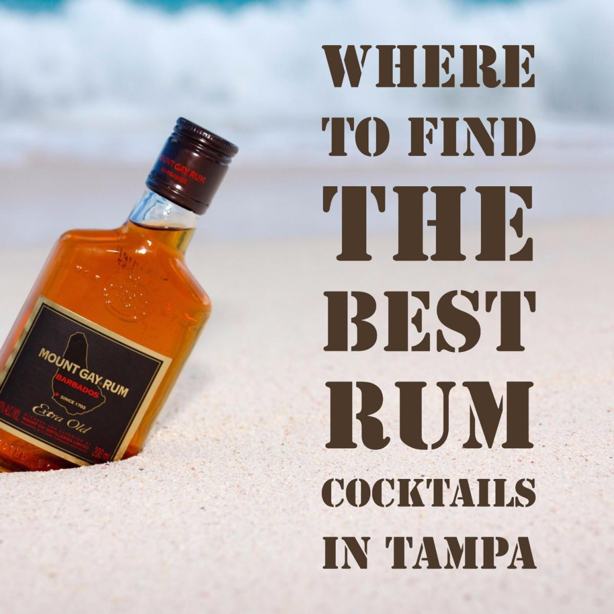 Where to Find the Best Rum Cocktails in Tampa
