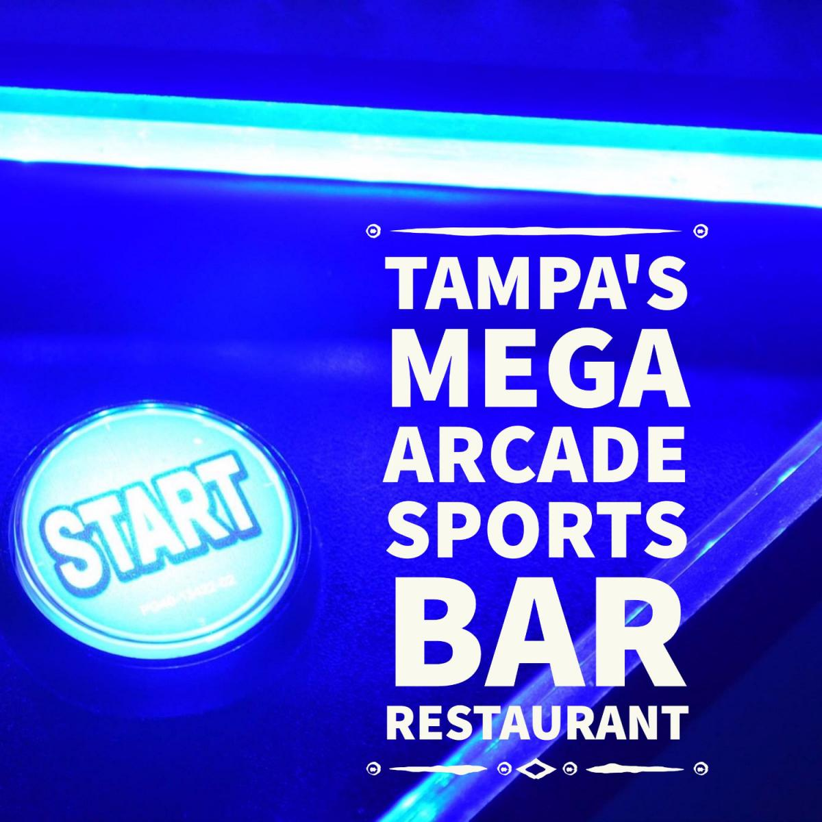 GameTime | A Fun Mega Arcade Sports Bar Restaurant in Tampa