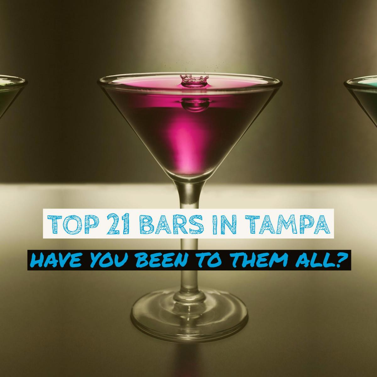 Top 21 Bars in Tampa | Have You Been To All of Them?