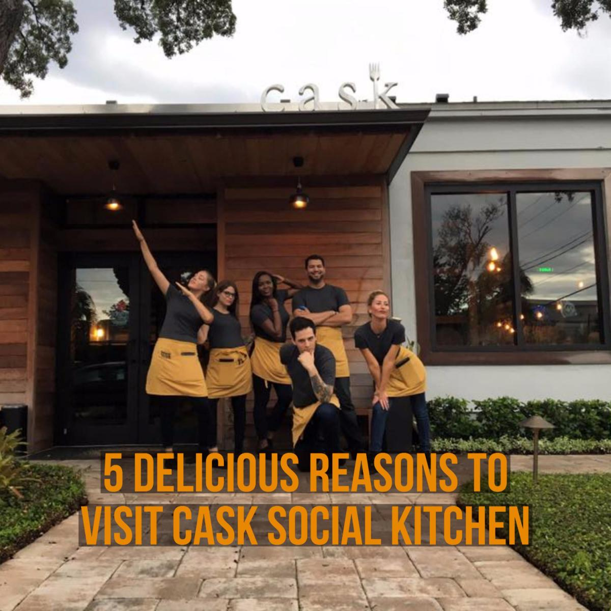 5 Delicious Reasons to Visit Cask Social Kitchen This Fall