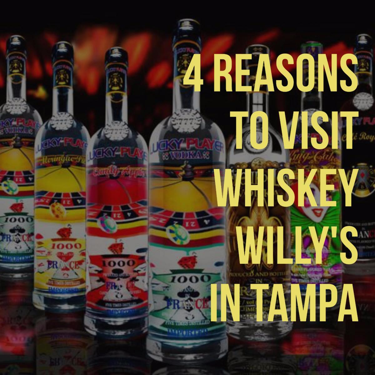4 Reasons Whiskey Willy's Tampa Is Your New Go-To Liquor Store