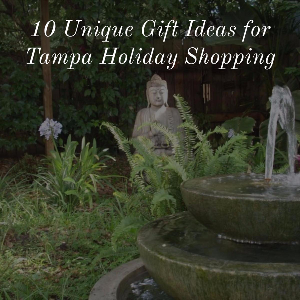 10 Unique Gift Ideas for Tampa Holiday Shopping