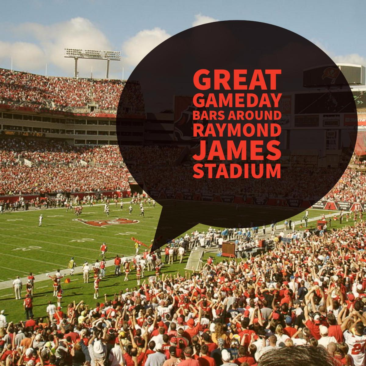 Great Gameday Bars Around Raymond James Stadium