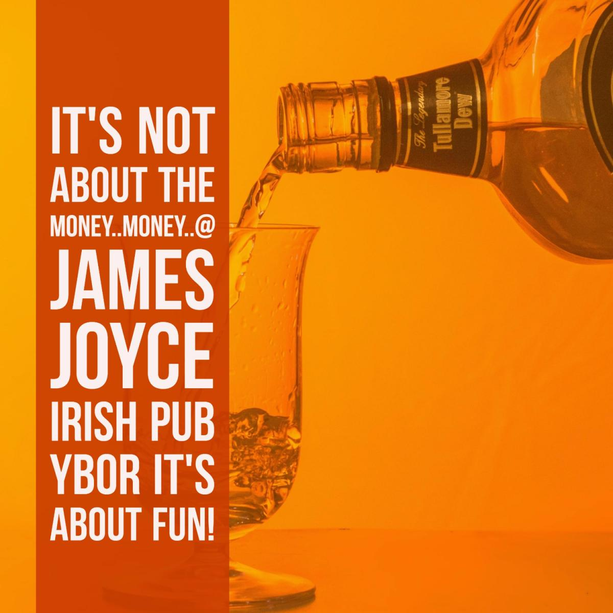 Get Your Jollies with James Joyce Irish Pub in Ybor