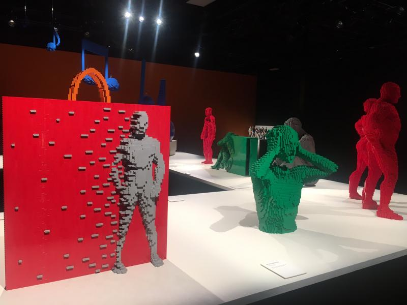 The ART OF THE BRICK Exhibition a Wonder Worth Seeing