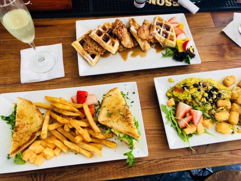 Cafe Perks Orlando Lunch Menu