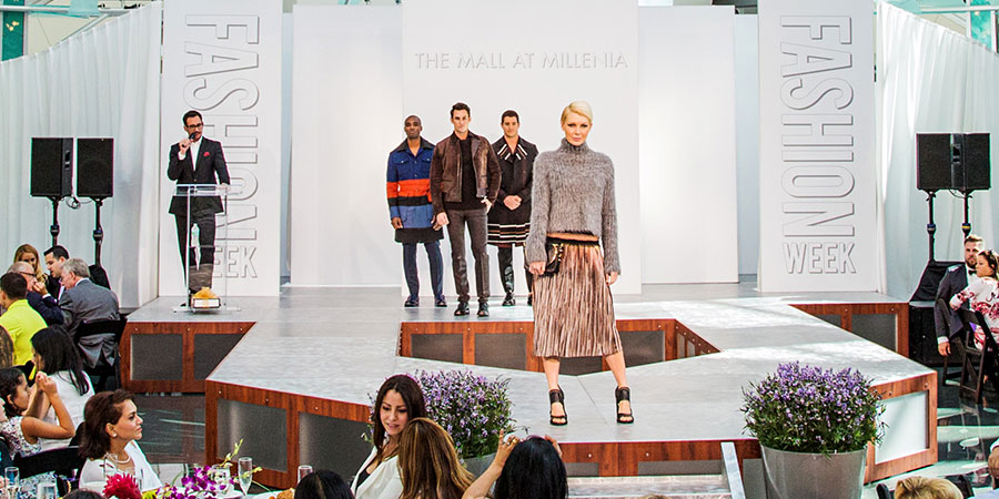 Fashion Is Trending At Mall At Millenia Fashion Week