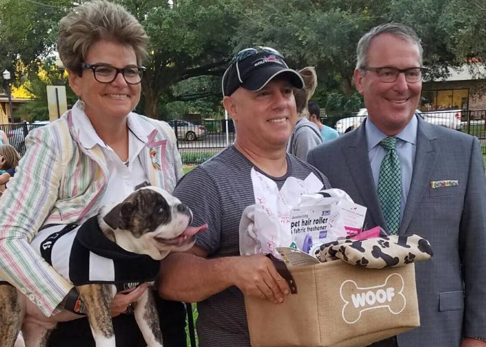 City Of Orlando Celebrates New Downtown Dog Park
