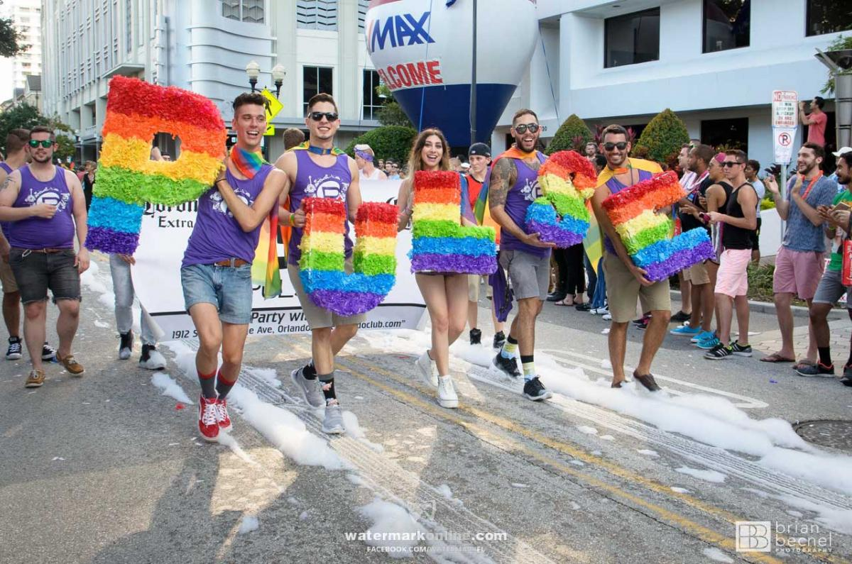 Gay pride parade orlando