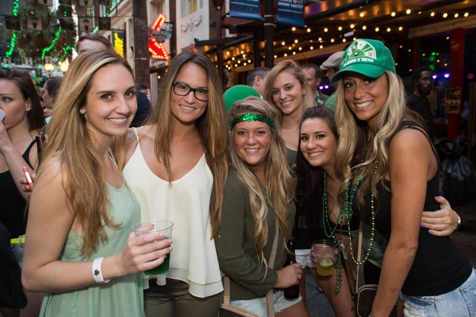 Shake Your Shamrocks This St. Patrick's Day On Wall Street Plaza