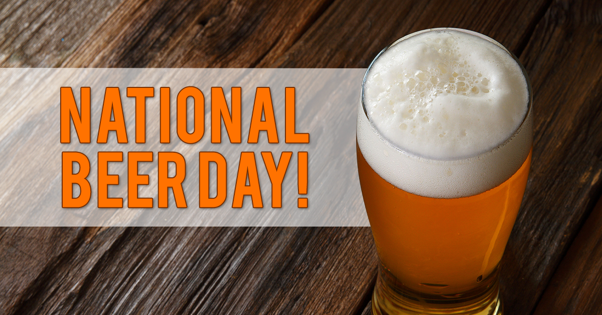 Celebrate National Beer Day Friday, April 7 with Local Brew Specials