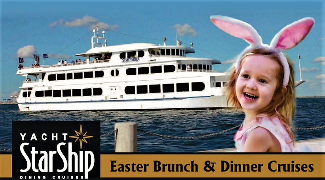 Enjoy a Very Special Easter Brunch on the Beautiful Yacht Starship