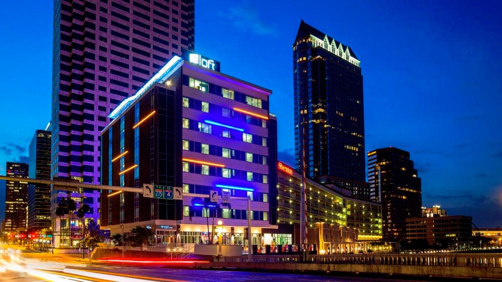 Spotlight Tampa | Aloft Hotel's W XYZ Bar is a Local Hotspot