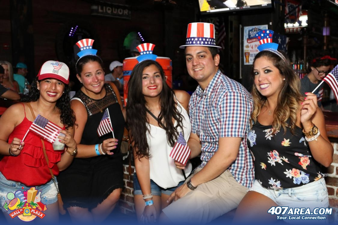 Get Patriotic AF With Two Wall Street Plaza 4th Of July Block Parties