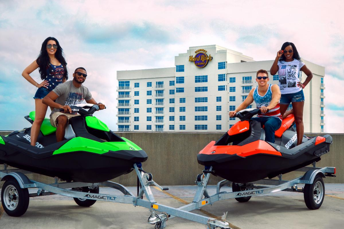 Incredible Fourth of July Sea-Doo Sweepstakes at Seminole Hard Rock