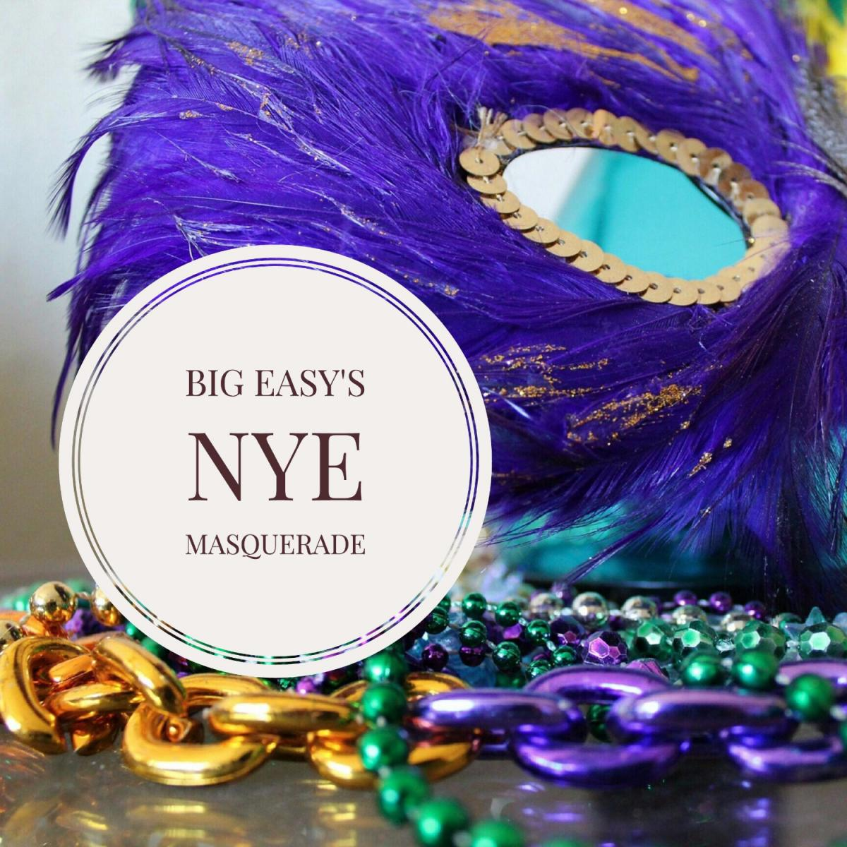 Big Easy Hosts Sensational New Year's Eve Masquerade in Tampa