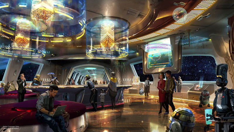 The Force Is Strong With New Star Wars Area Coming To Disney 2019