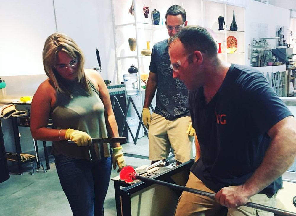 International Hot Glass Offers Orlando's Only Walk-in Workshop