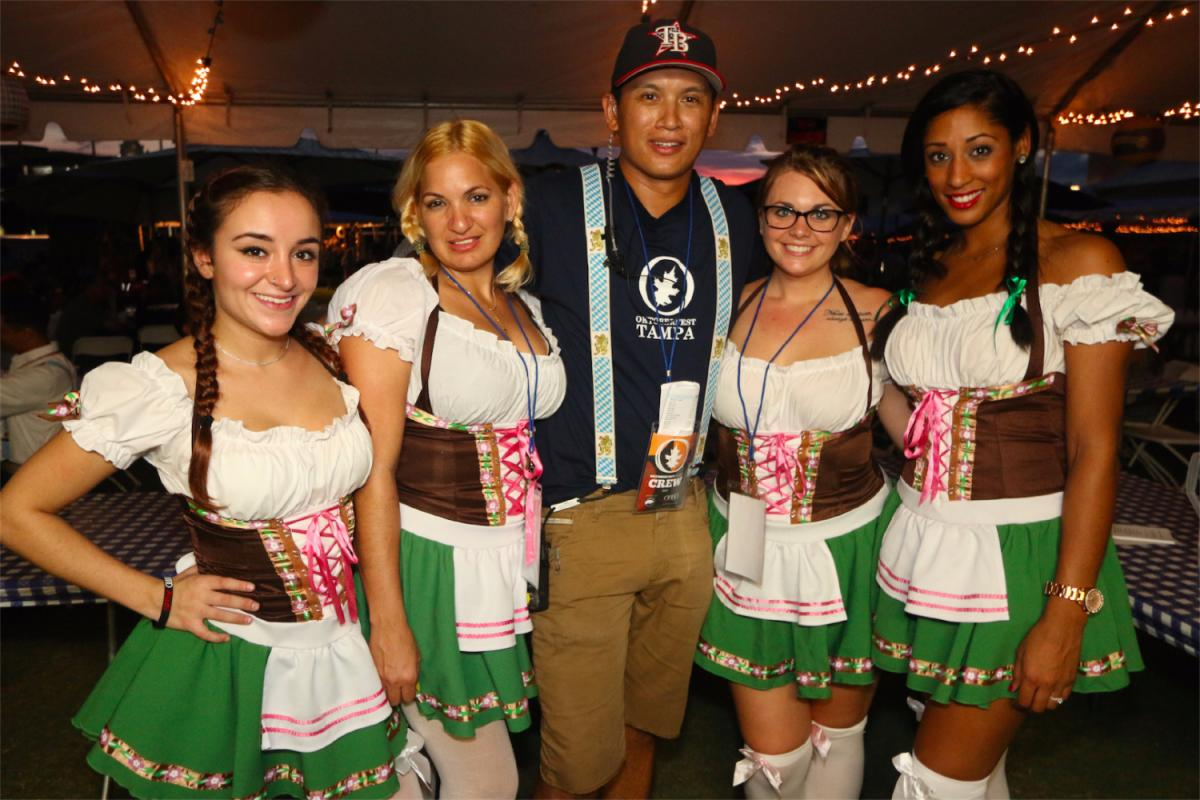 Bust Out Those Lederhosen - Oktoberfest Tampa at Curtis Hixon Park is Coming!