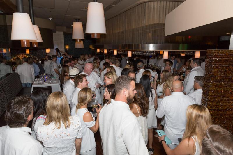Style and Substance Combine for White Party at Eddie V's, Benefiting Debartolo Family Foundation