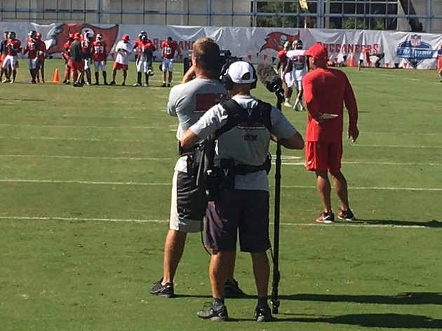 "Bucs Enter Prime Time With ""Hard Knocks"""
