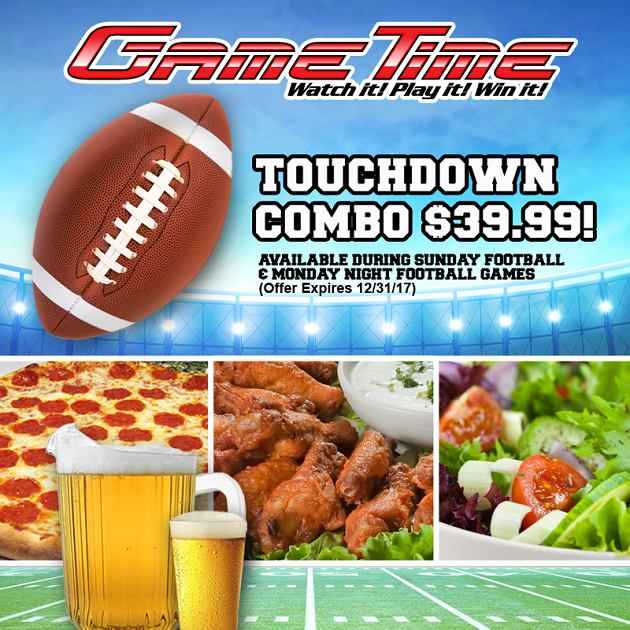 Football Season is More Fun at GameTIme!