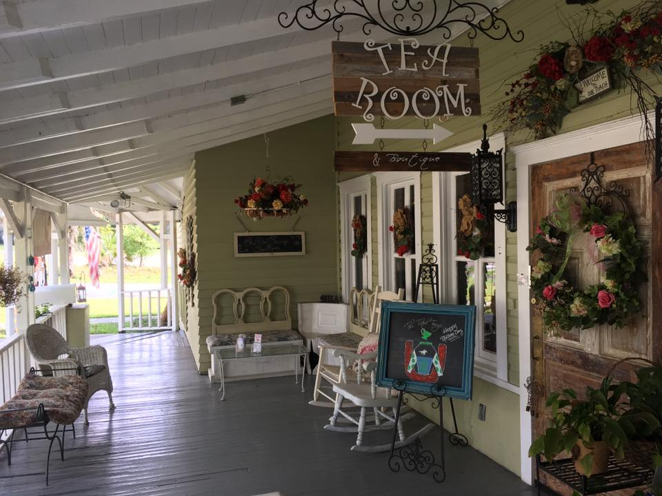 Spend an Enchanting Afternoon at The Tilted Teacup Tea Room and Boutique in Brooksville
