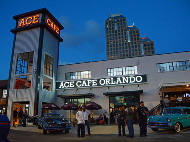 Ace Cafe Orlando Happy Hour