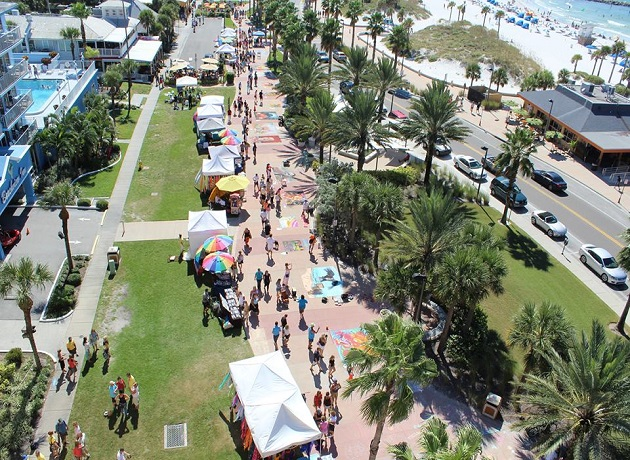 Pave Your Way Over To The 6th Annual Clearwater Beach Chalk Art Festival